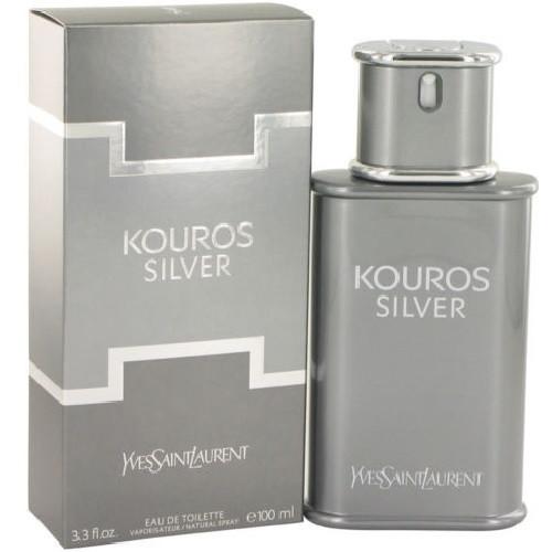 Kouros Silver by Yves Saint Laurent 3.3 oz EDT for Men