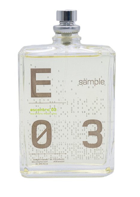 Escentric 03 by Escentric Molecules 3.5 oz EDT Tester