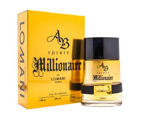 Ab Spirit Millionaire by Lomani 3.3 oz EDT for men