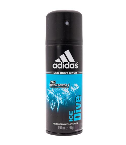Adidas Ice Dive by Adidas 5 oz Deodorant Body Spray for Men