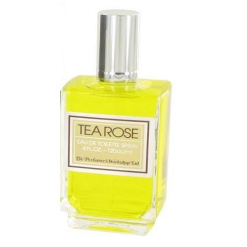 Tea Rose by Perfumer's Workshop 4.0 oz EDT for women Tester
