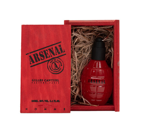 Arsenal Red (New) by Gilles Cantuel 3.4 oz EDP for Men