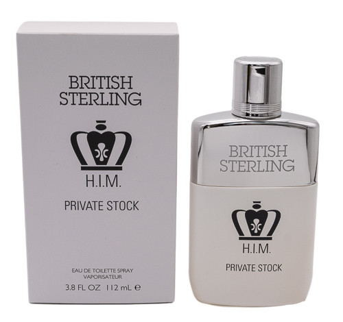 British Sterling H.I.M. Private Stock by Dana 3.8 oz EDT  for Men