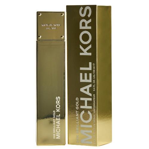 24K Brilliant Gold by Michael Kors 3.4 oz EDP for women