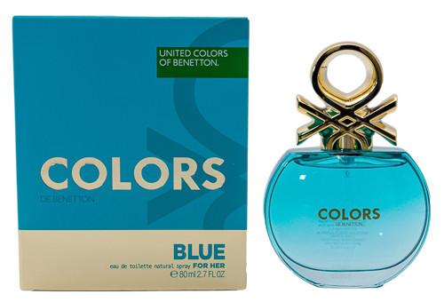 Colors de Benetton Blue by Benetton 2.7 oz EDT for women