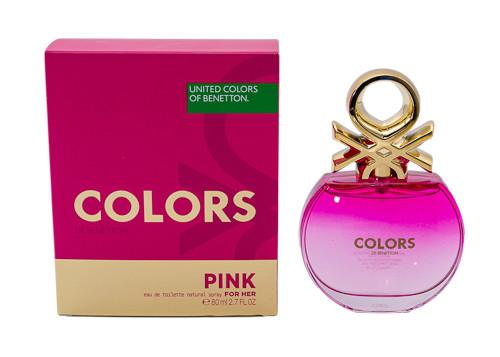 Colors de Benetton Pink by Benetton 2.7 oz EDT for women