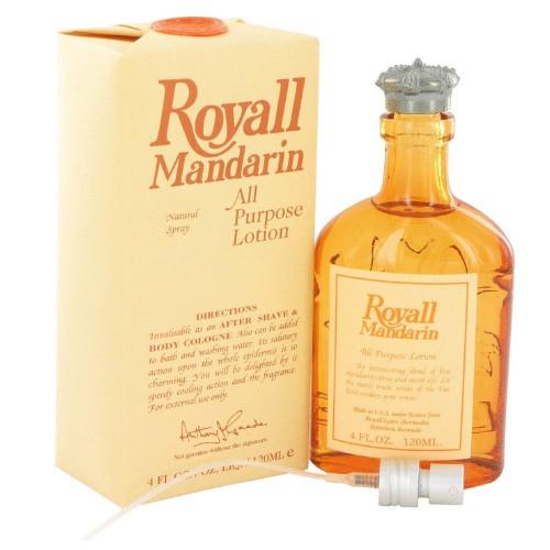 Royall Mandarin by Royall Fragrances 4 oz All Purpose Lotion
