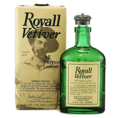 Royall Vetiver by Royall Fragrances 4 oz All Purpose Lotion Cologne for men