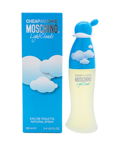 Cheap & Chic Light Clouds by Moschino 3.4 oz EDT for Women