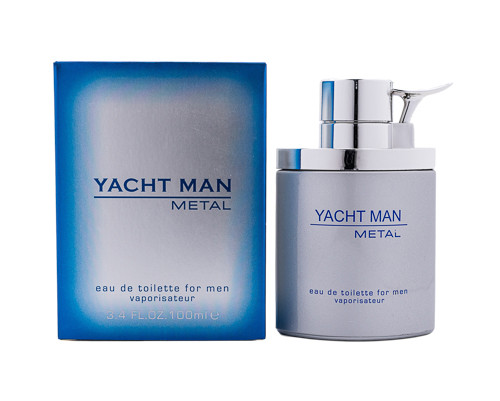 Yacht Man Metal by Myrurgia 3.4 oz EDT for Men New In Box