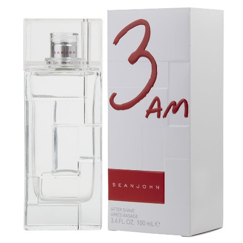 3 AM by Sean John 3.4 oz Aftershave for Men