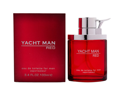 Yacht Man Red by Myrurgla 3.4 oz EDT for men