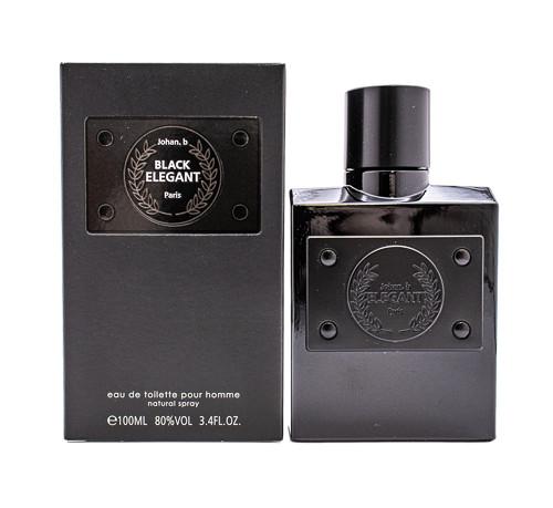 Black Elegant by Johan.b 3.4 oz EDT for Men