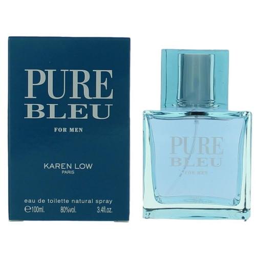 Pure Bleu by Karen Low 3.4 oz EDT for men