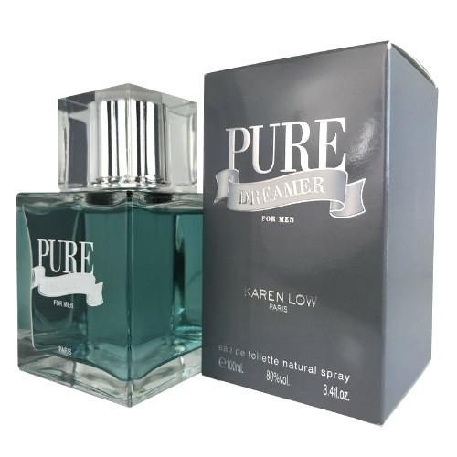 Pure Dreamer by Karen Low 3.4 oz EDT for men