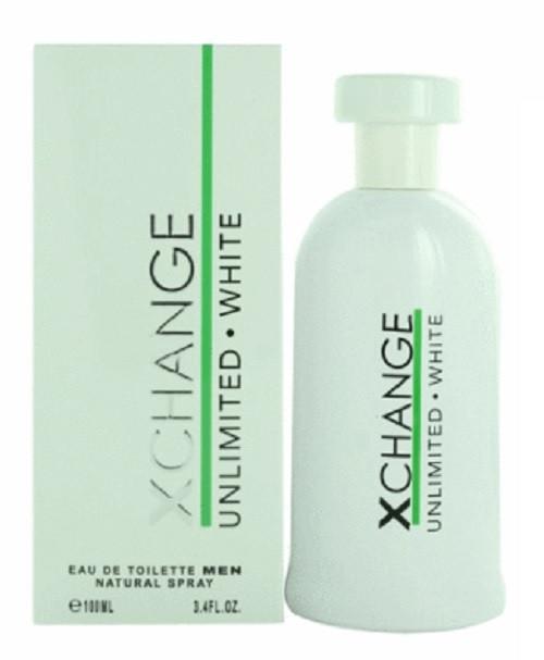 Xchange Unlimited White  by Karen Low 3.4 oz EDT for men