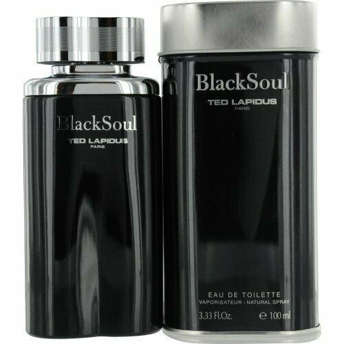 Black Soul by Ted Lapidus 3.33 oz EDT for Men
