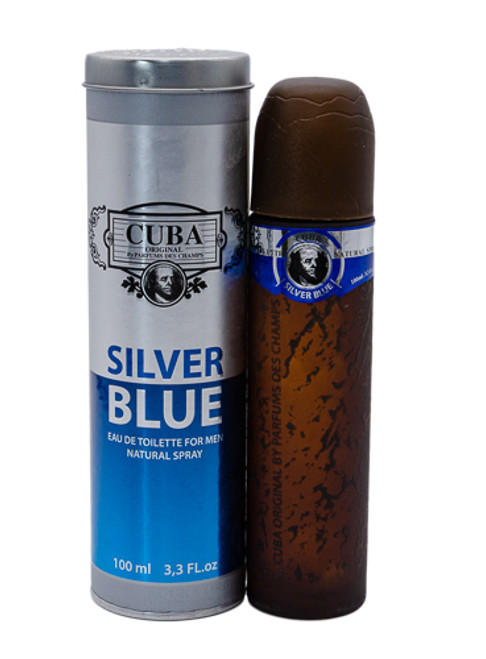 Cuba Silver Blue by Fragluxe 3.3 oz EDT for men