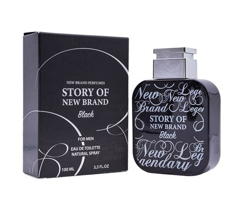 Story of New Brand Black by New Brand 3.3 oz EDT for men