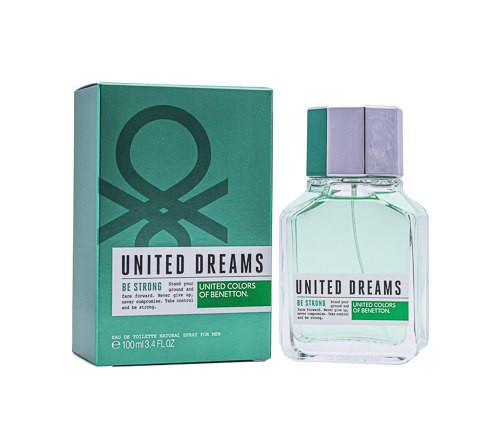 United Dreams Be Strong by Benetton 3.4 oz EDT for Men