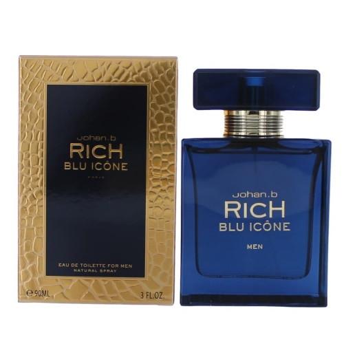 Rich Blu Icone by Johan.b 3 oz EDT for Men