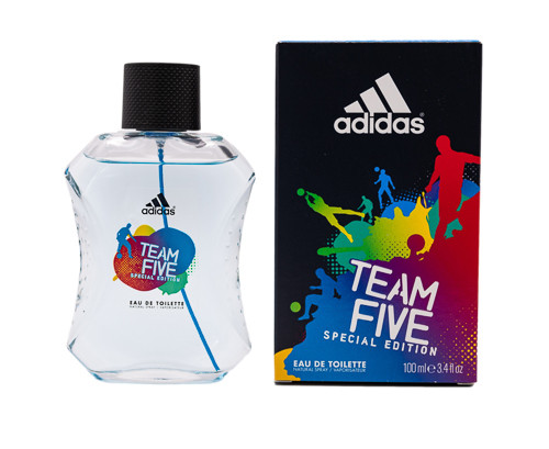 Team Five by Adidas 3.4 oz EDT for men