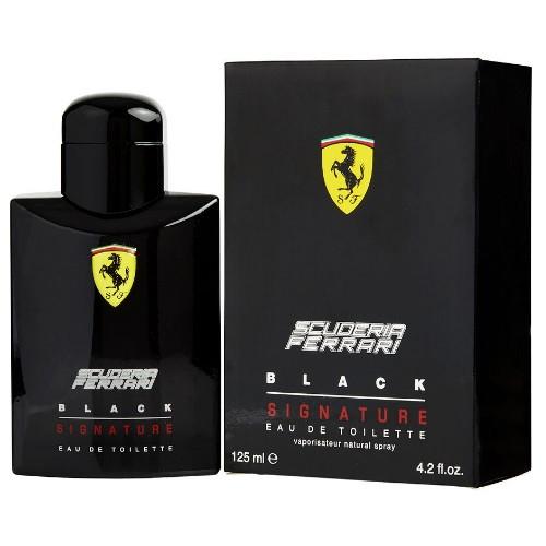Ferrari Scuderia Black Signature by Ferrari 4.2 oz EDT for Men