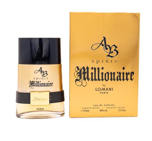 Ab Spirit Millionaire by Lomani 6.6 oz EDT for men