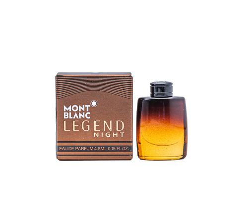 Mont Blanc Legend Night by Mont Blanc 0.15 oz EDT Mini for men