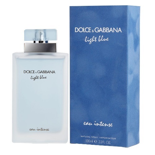 Light Blue eau Intense by Dolce & Gabbana 3.3 oz EDP for women