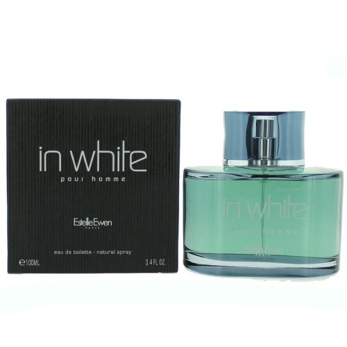 In White Pour Homme by Estelle Ewen 3.4 oz EDT for Men