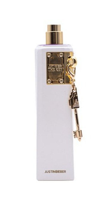 The Key by Justin Bieber 3.4 oz EDP for Women Tester Unboxed