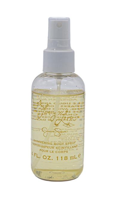 Fancy Love by Jessica Simpson 4 oz Shimmering Body Spray for Women
