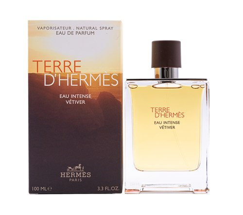 Terre d'Hermes Eau Intense Vetiver by Hermes 3.4 oz EDP for men