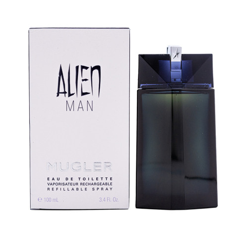 Alien Man by Thierry Mugler 3.4 oz EDT Refillable for men