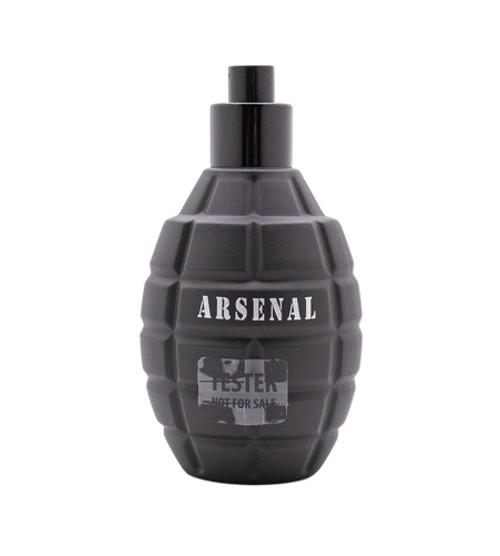 Arsenal Black by Gilles Cantuel 3.4 oz EDP for Men Tester