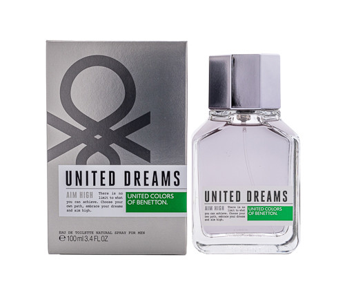 United Dreams Aim High by Benetton 3.4 oz EDT for Men