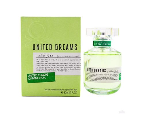 United Dreams Live Free by Benetton 2.7 oz EDT for women