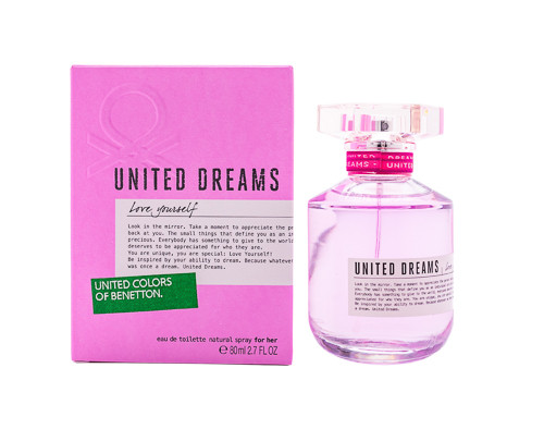 United Dreams Love Yourself by Benetton 2.7 oz EDT for women
