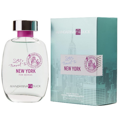 Let's Travel To New York by Mandarina Duck 3.4 oz EDT for Women