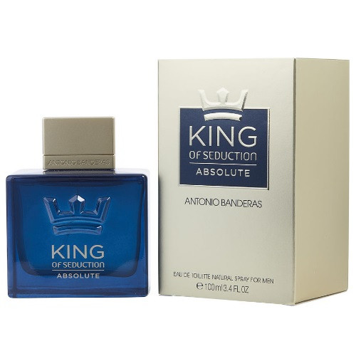 King of Seduction Absolute by Antonio Banderas 3.4 oz EDT for Men
