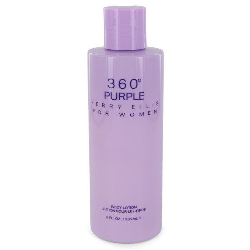 360 Purple by Perry Ellis 8 oz Body Lotion for women