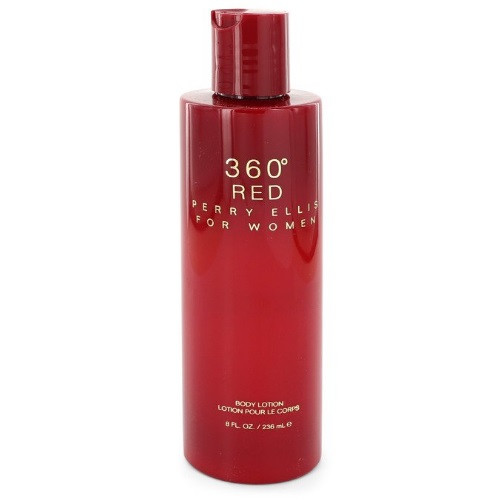 360 Red by Perry Ellis 8 oz Body Lotion for Women
