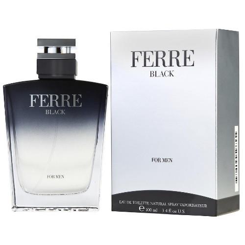 Ferre Black by Gianfranco Ferre 3.4 oz EDT for Men