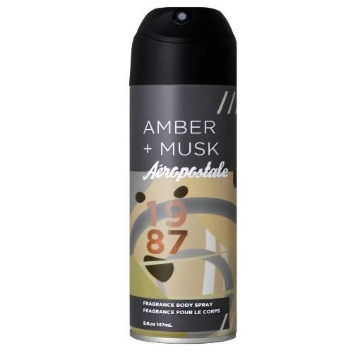 Aeropostale Amber + Musk by Aeropostale 5 oz Deodorant Body Spray for Men