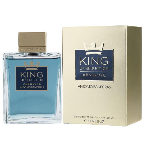 King of Seduction Absolute by Antonio Banderas 6.8 oz EDT for Men