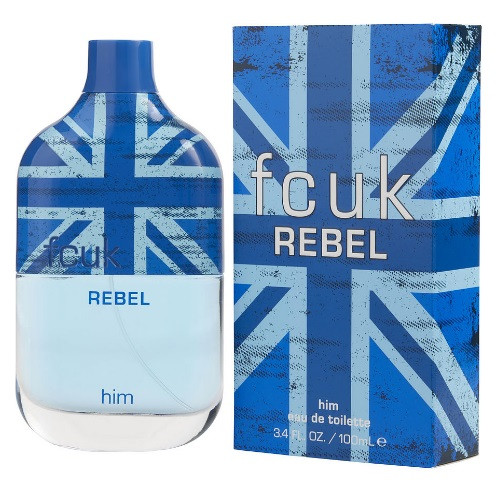 Fcuk Rebel by French Connection 3.4 oz EDT for Men