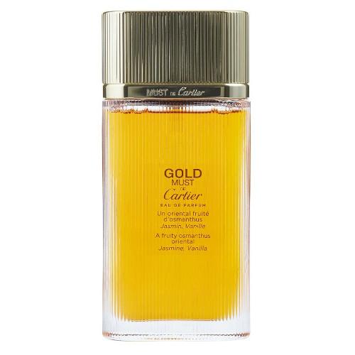 Must de Cartier Gold by Cartier 3.3 oz EDP for Women Tester