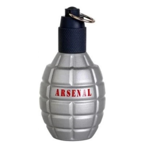 Arsenal Grey by Gilles Cantuel 3.4 oz EDP for Men Tester