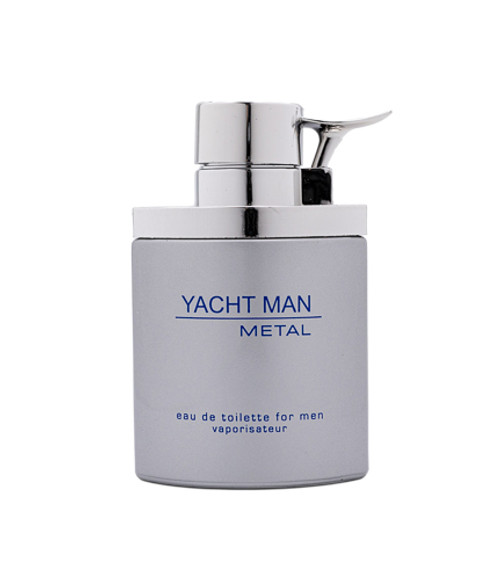 Yacht Man Metal by Myrurgia 3.4 oz EDT for men Tester